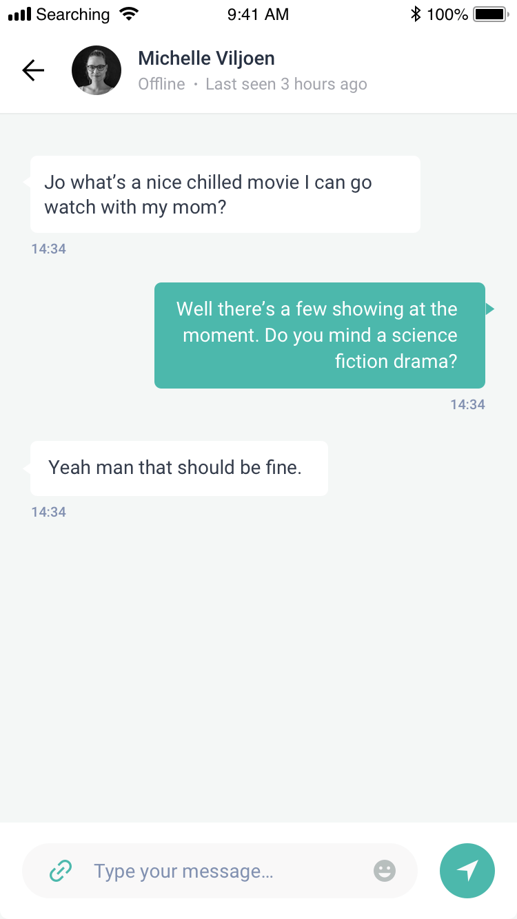 Mobille App Real Time Chat