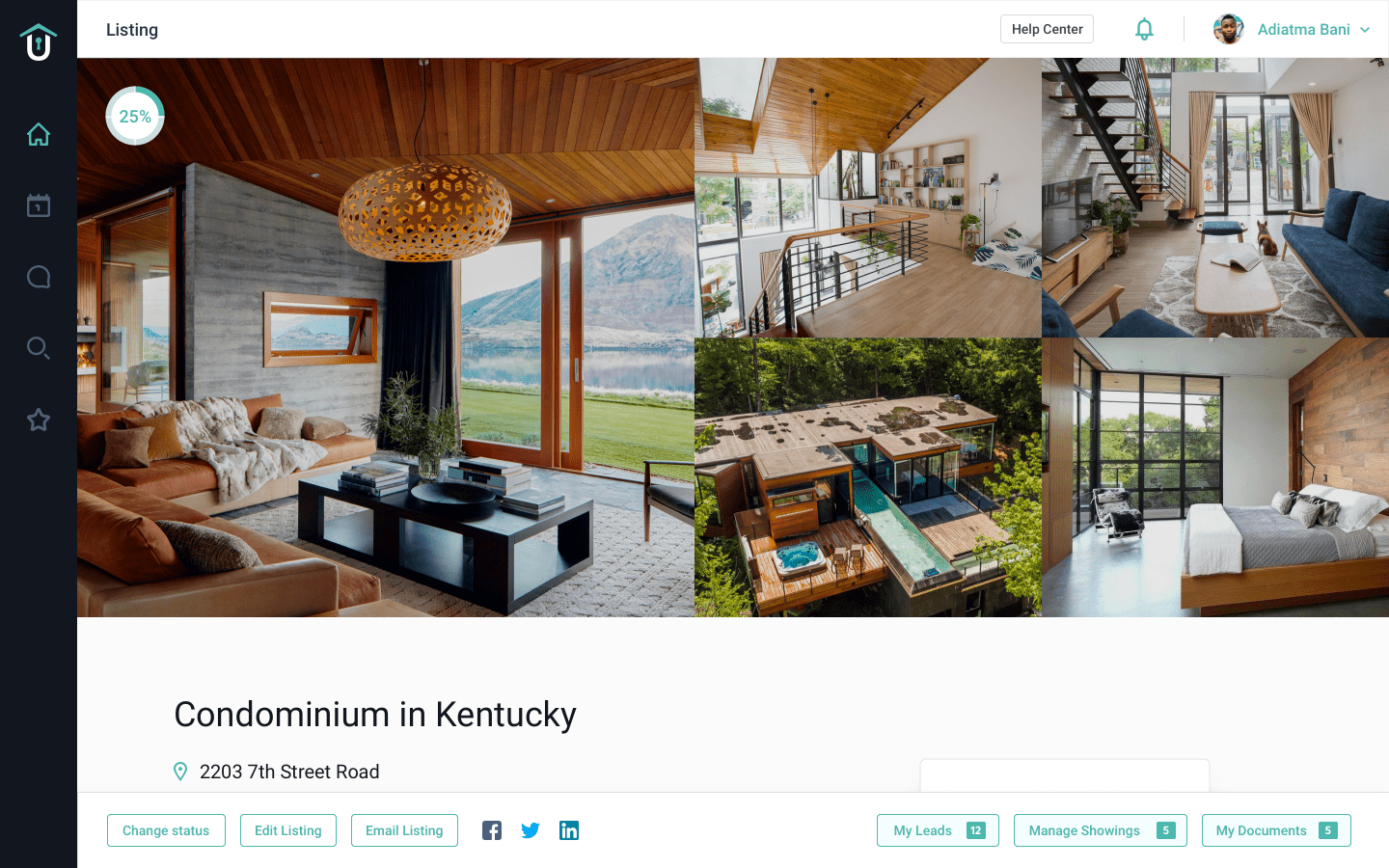Real Estate Listing Preview