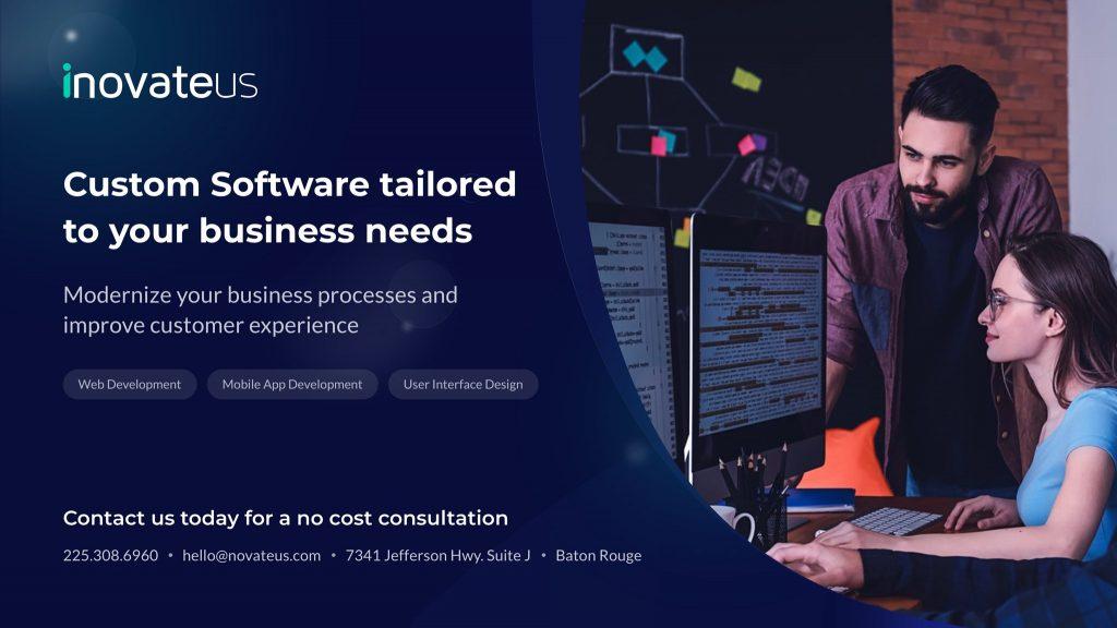 Novateus custom software development