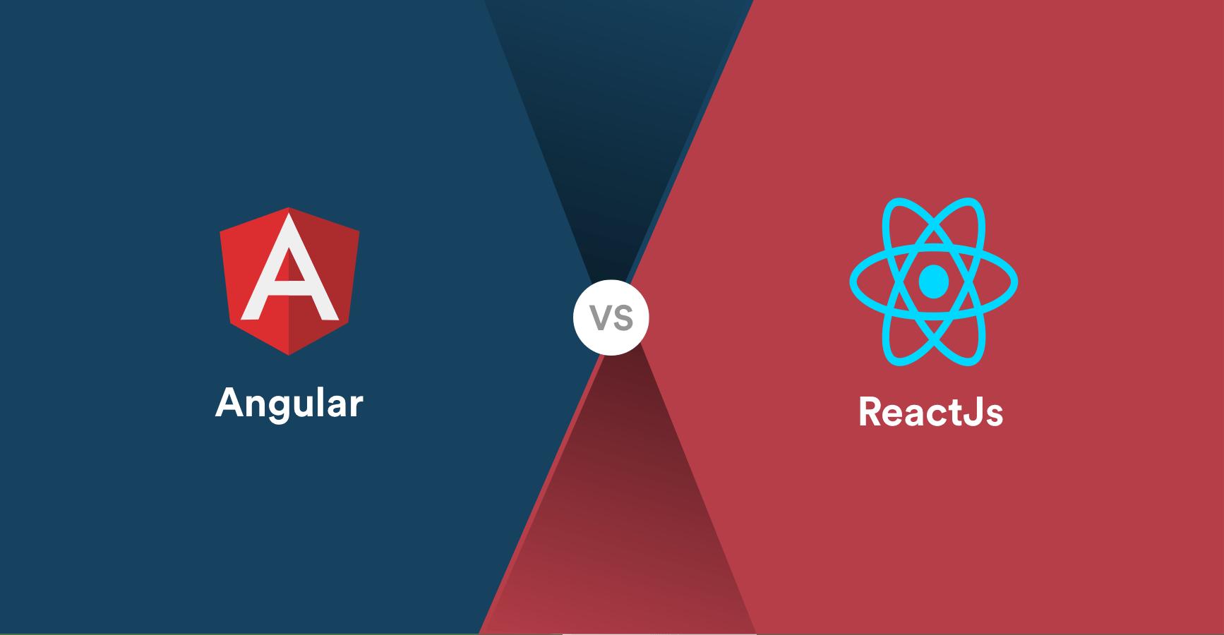 React and Angular